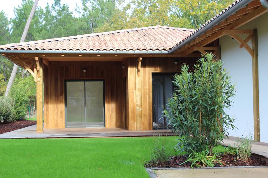 Villa neuve avec jardin aménagé à vendre