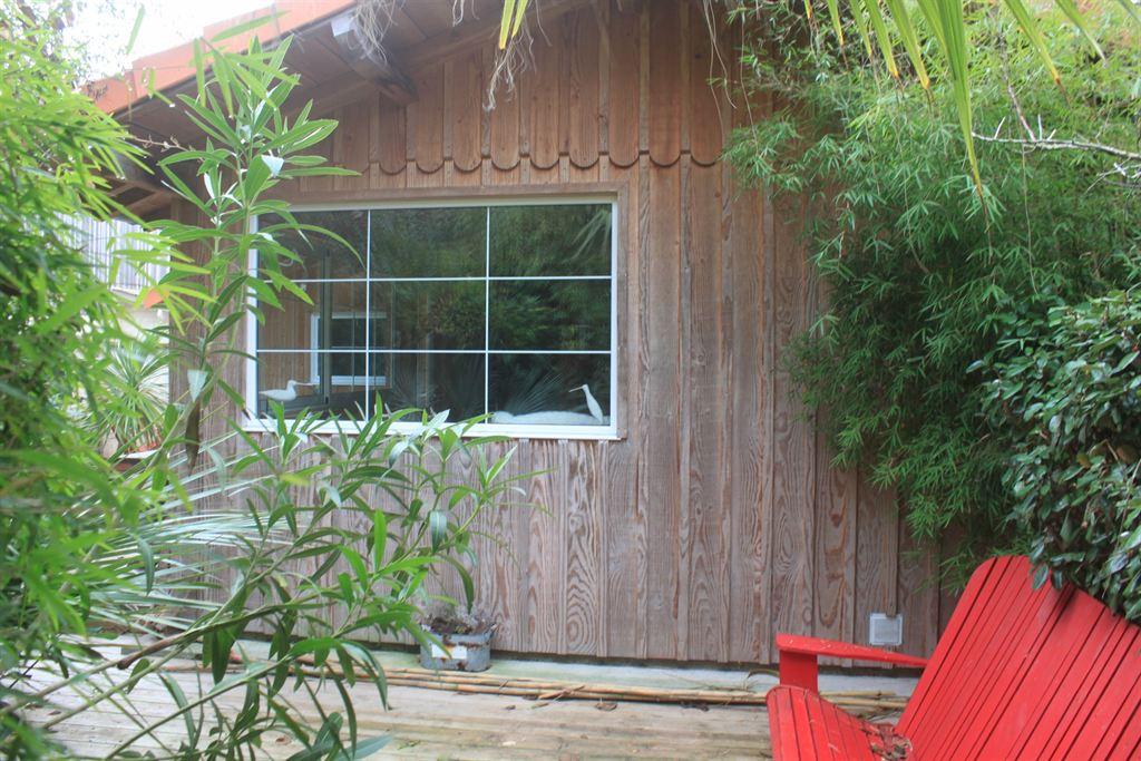 Villa en bois a vendre à Cap Ferret quartier Petit Piquey
