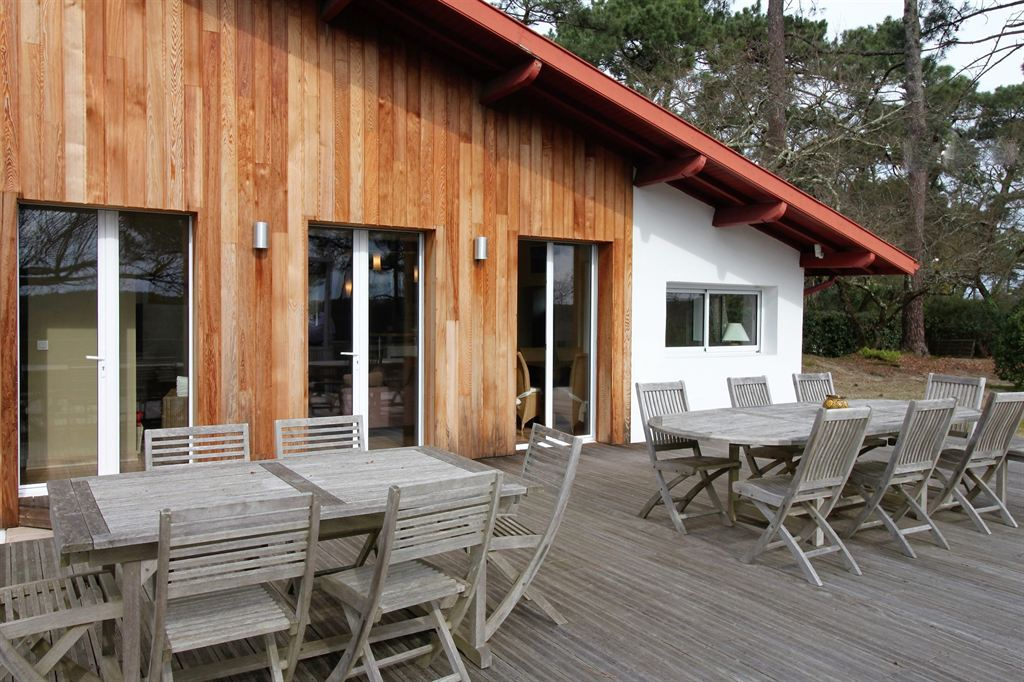 recherche villa bardage bois pyla