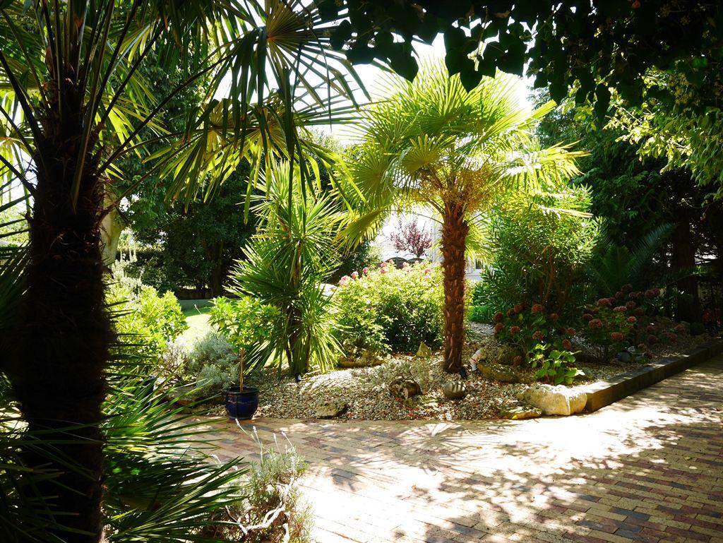villa avec beau jardin bassin arcachon