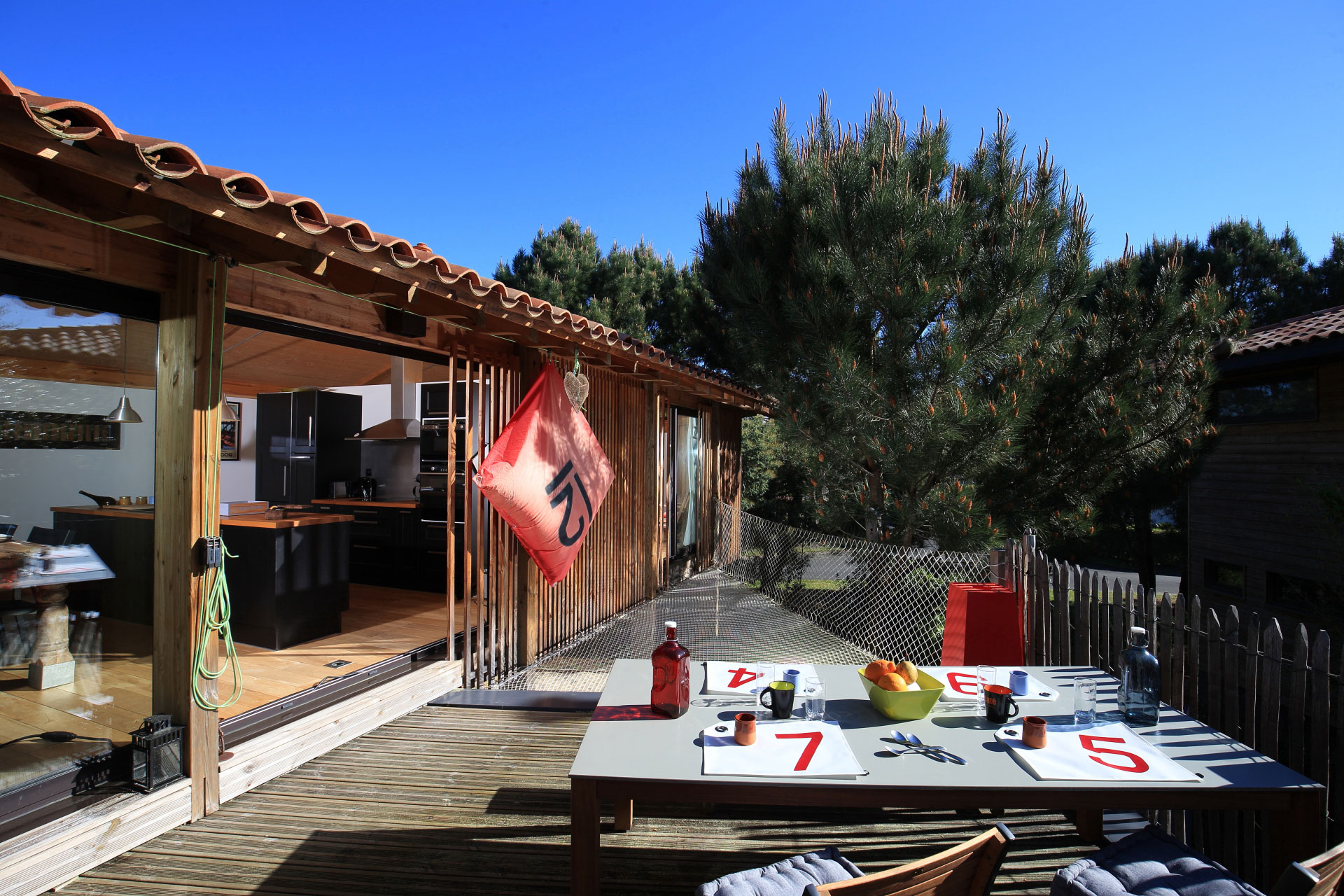 Maison messanges latest location vacances maison for Decoration maison landaise