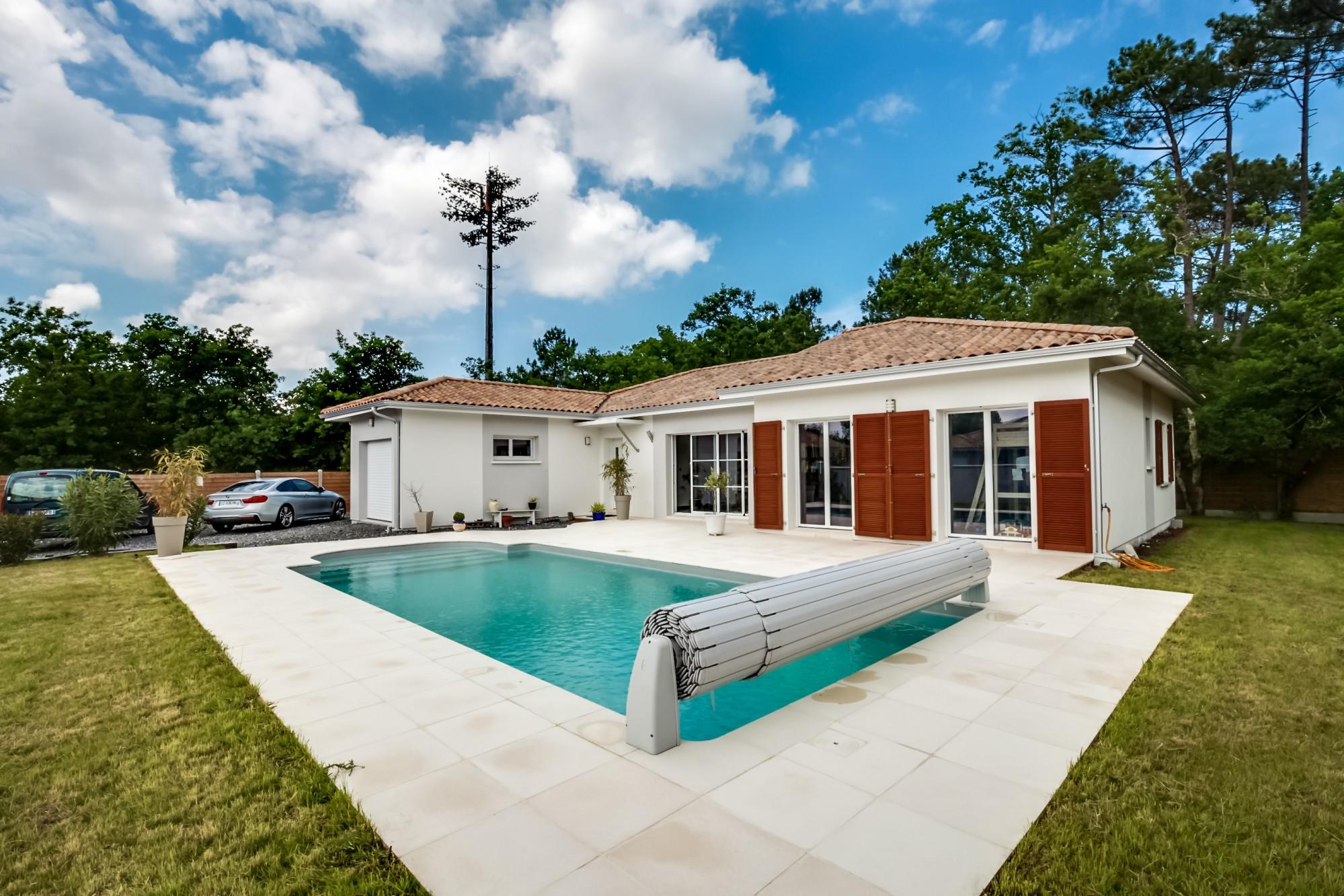 villa de standing avec piscine en vente Bassin Arcachon