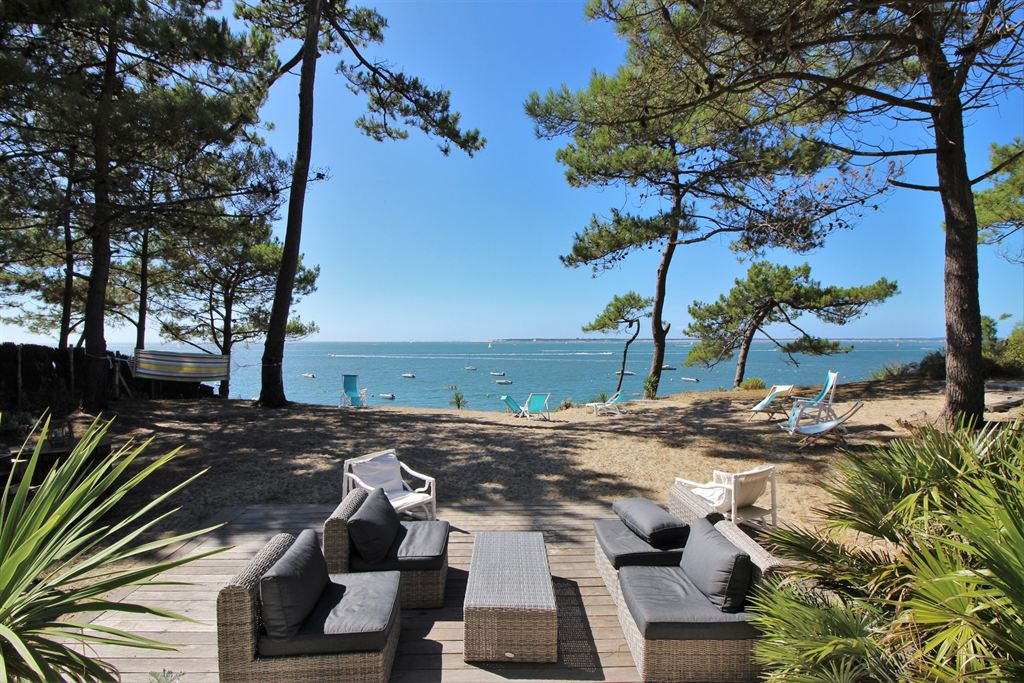 Agence immobili re de luxe cap ferret pyla sur mer le for Agence gaume