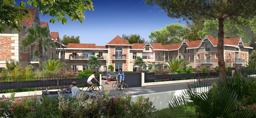 Vente appartement t3 f3 arcachon le moulleau dans programme neuf coldwell banker for Le jardin moulleau