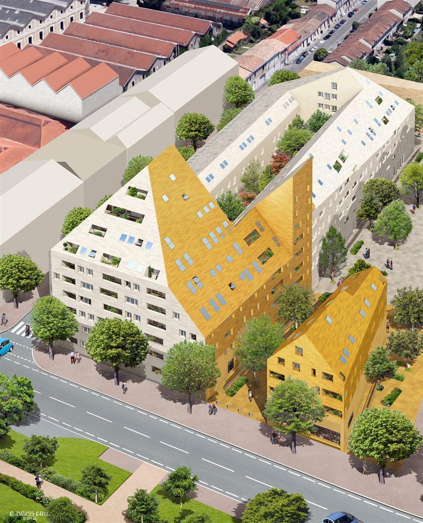 Vente appartement neuf 3 chambres avec vue garonne for Vente appartement sur bordeaux