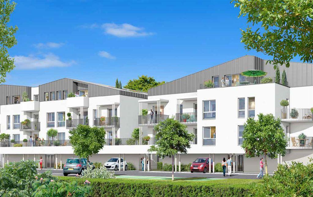 achat appartement neuf 2 chambres dernier étage  Mérignac 33