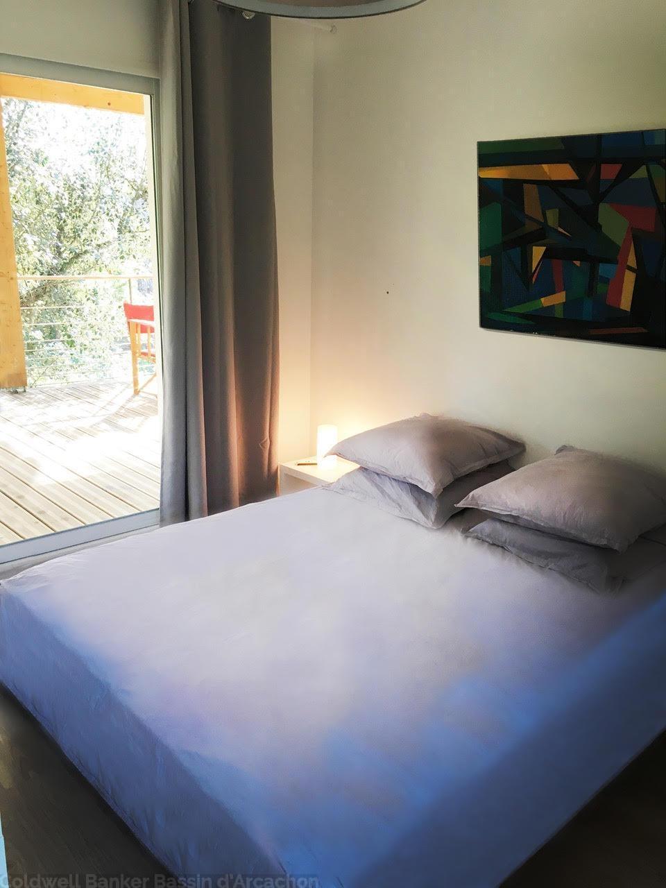 Location villa proche plage avec piscine chauffée ARCACHON LES ABATILLES