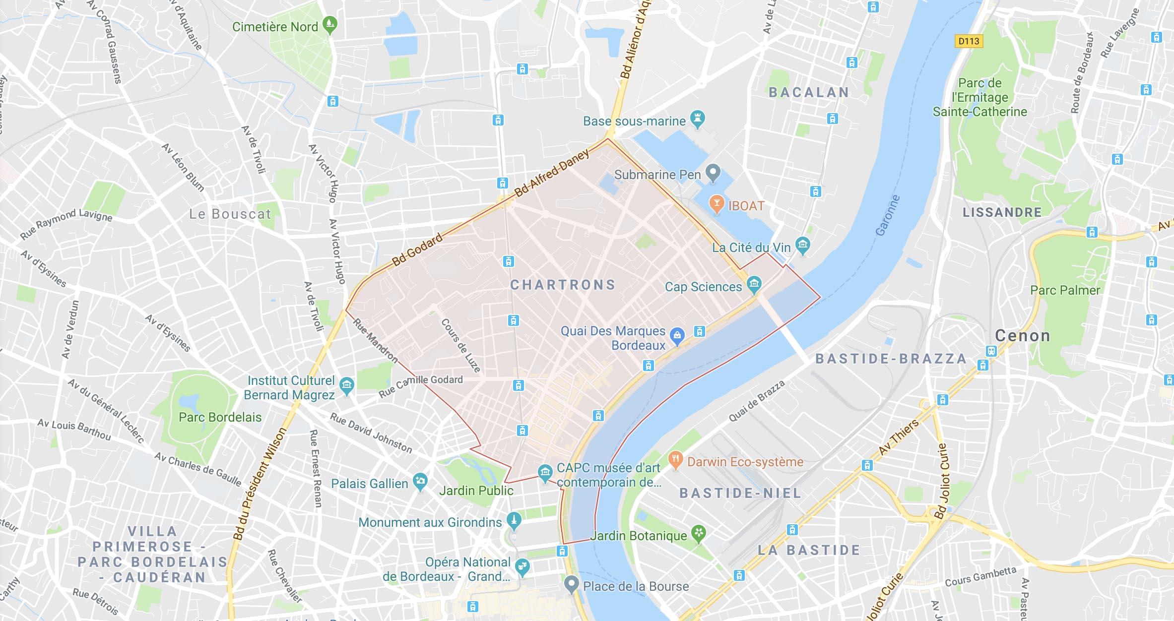 La vie de quartier - Bordeaux Chartrons, grand parc, jardin public