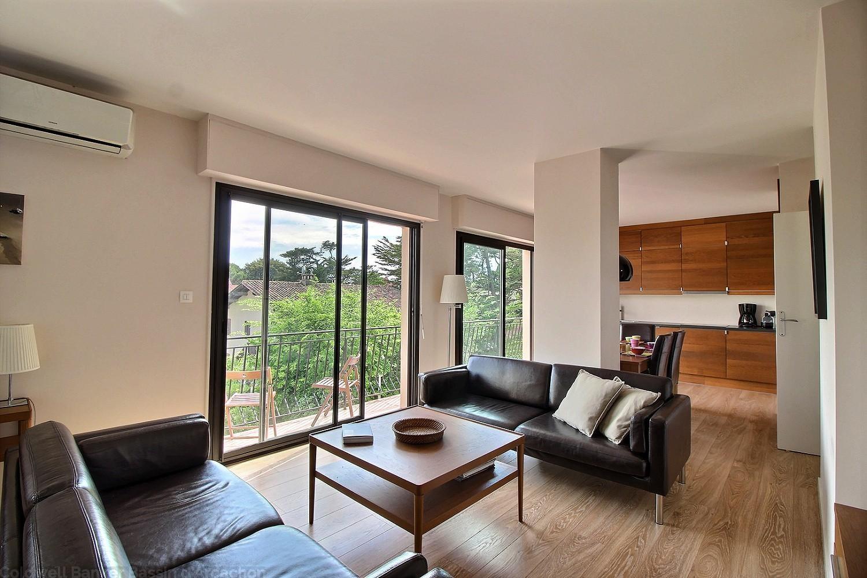 appartement 79m2 3 chambres à vendre au moulleau arcachon à 50m de la plage