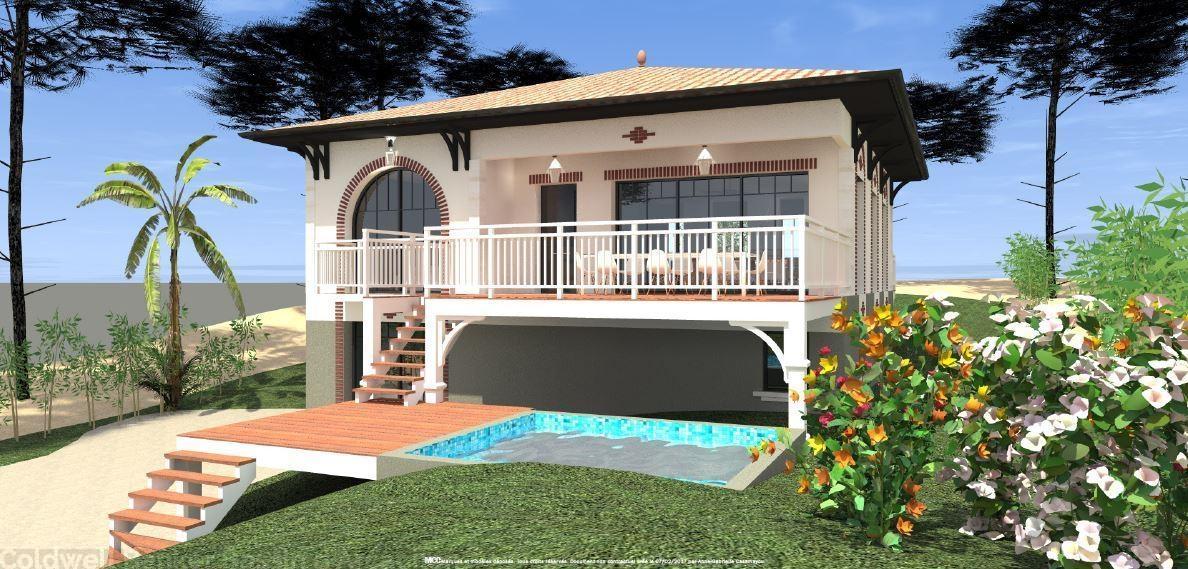 villa de prestige avec piscine à la vente sur Pereire Arcachon