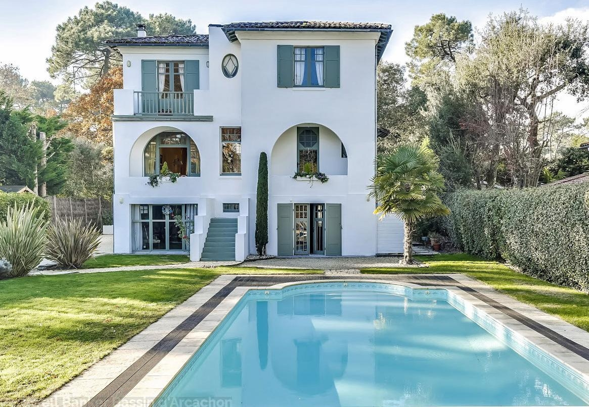 Contemporary Wooden House 6 Bedrooms For Sale Arcachon Bay