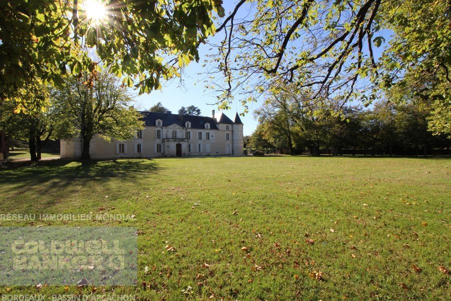 acheter château hôtel avec restaurant région bordelaise