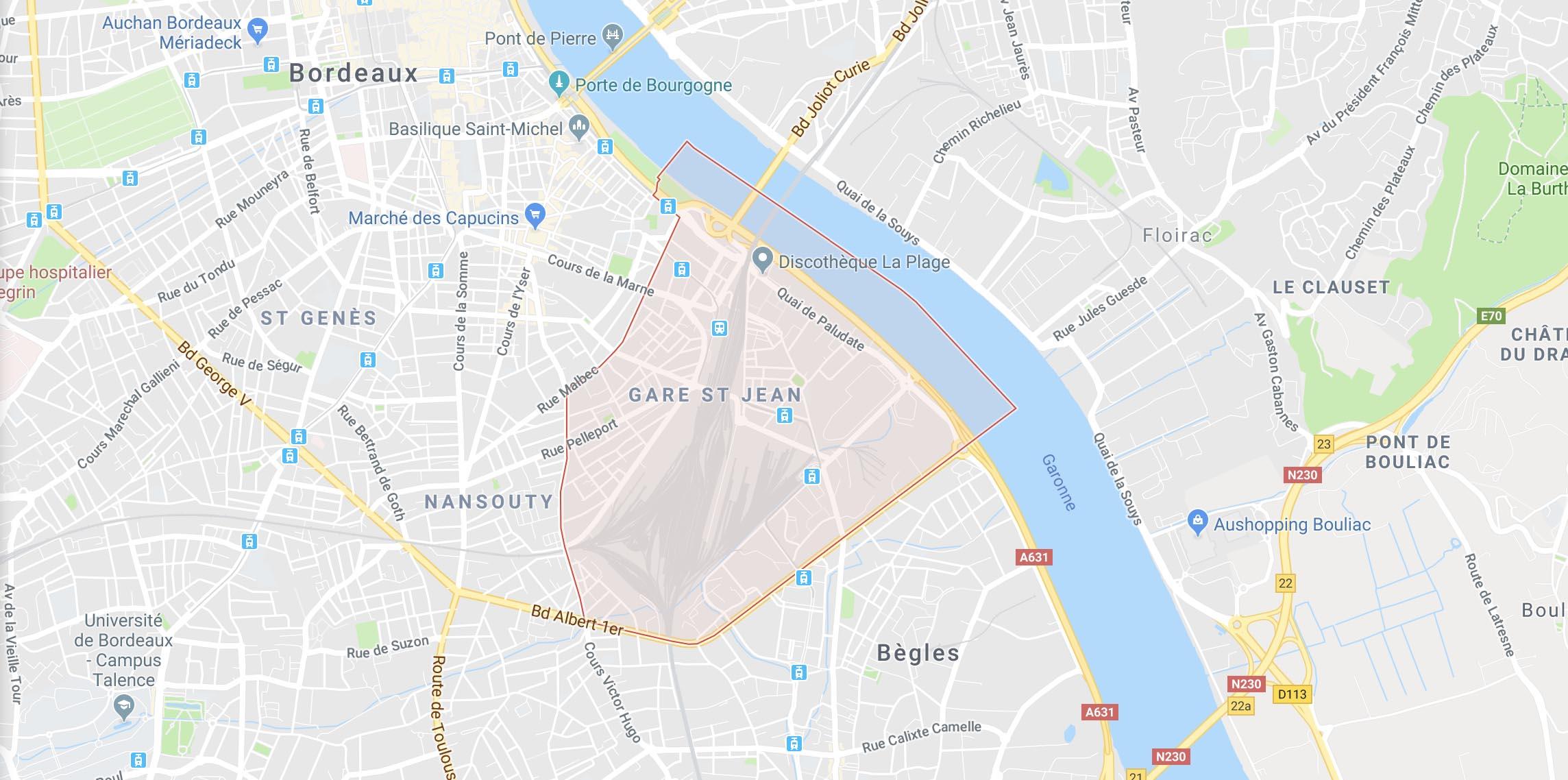 La vie de quartier - Bordeaux Saint Jean, gare, Euratlantique
