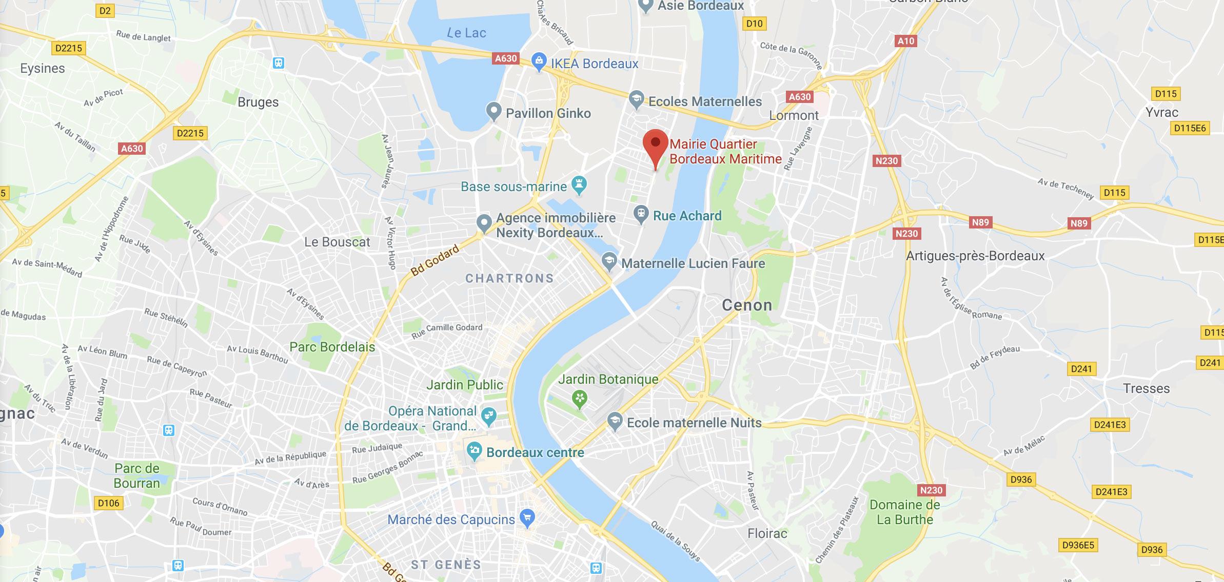 Immobilier quartier Bordeaux maritime : Bordeaux Lac, Bacalan, Bassin à flots, Ginko