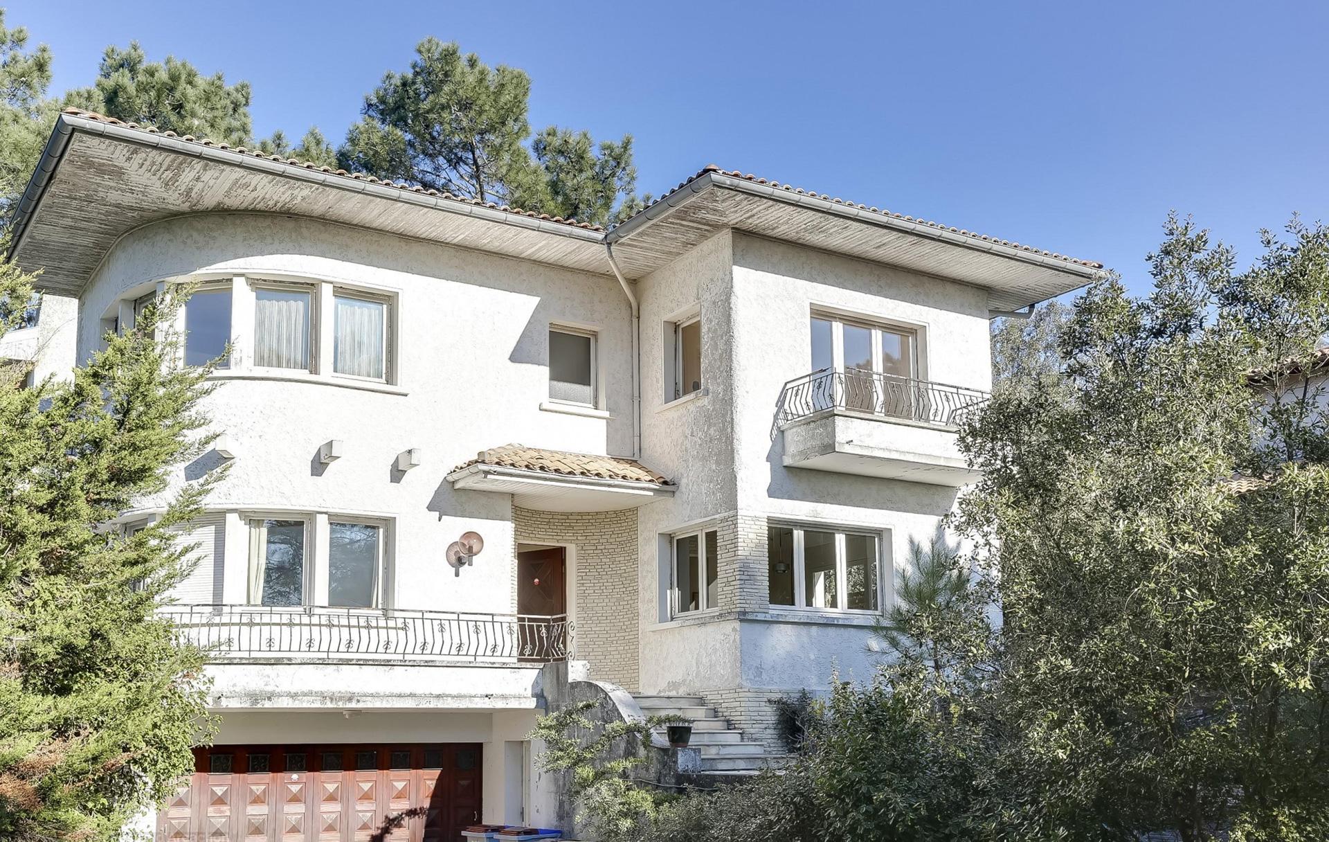 recherche grande maison familiale 7 chambres à la vente le Moulleau