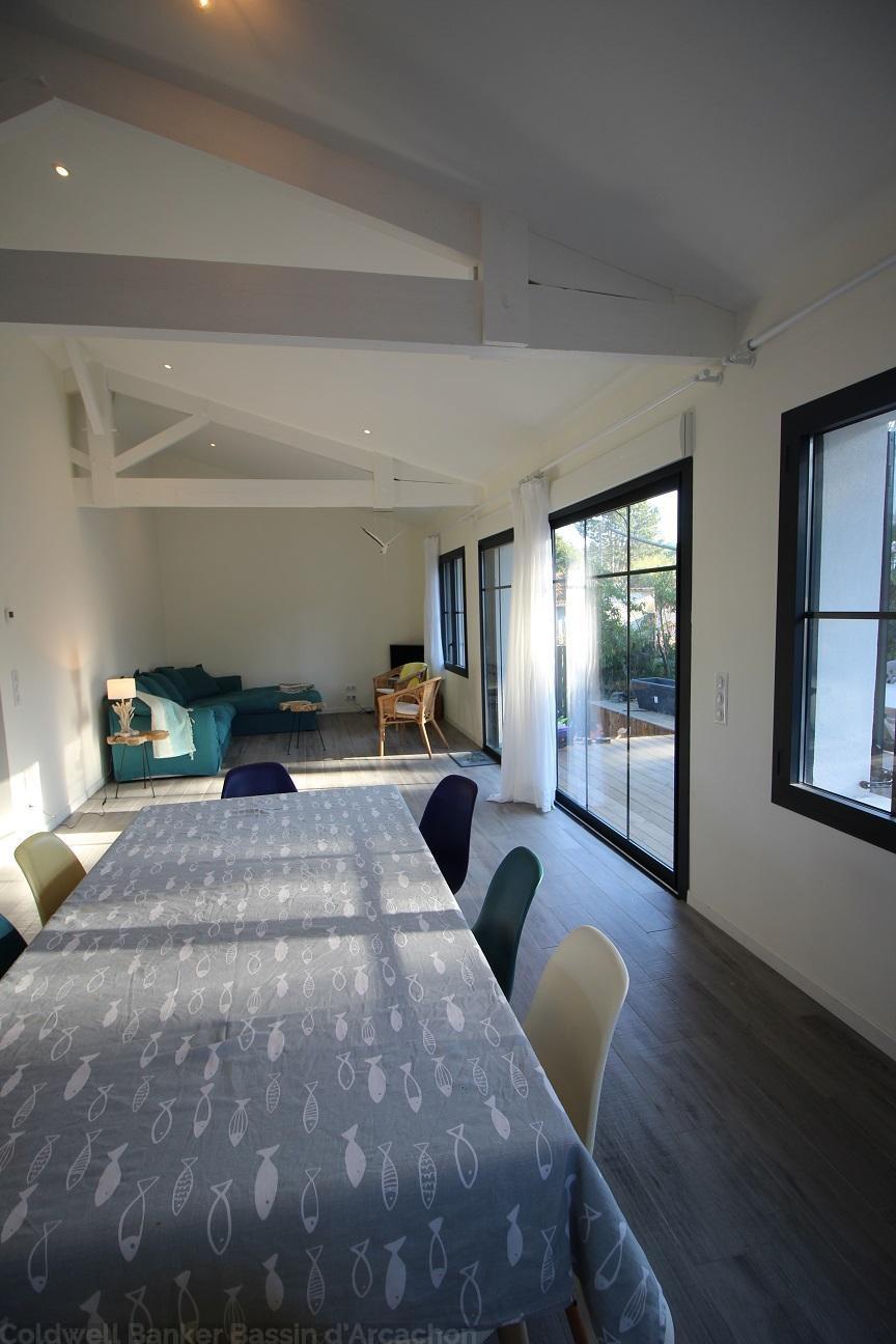Villa arcachon moulleau 4 chambres 9 personnes plage for Location bordeaux 4 chambres