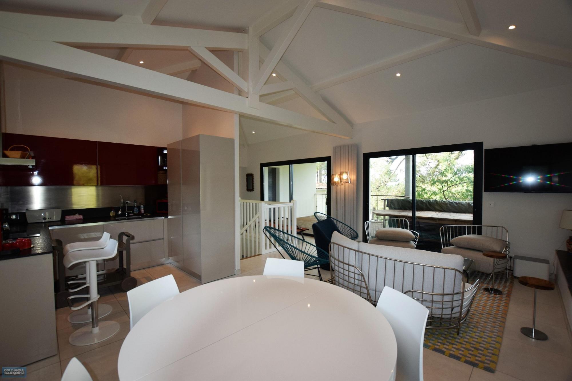 Location villa 5 chambres - 10 personnes - vue bassin PYLA SUR MER SUPER PYLA
