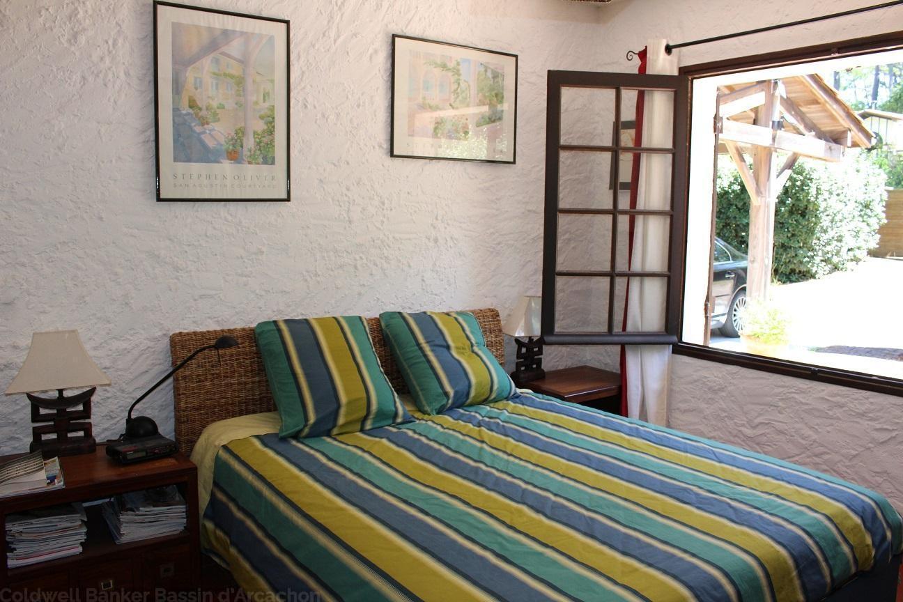 Villa 5 chambres 10 personnes 350m de la plage pyla for Site location chambre