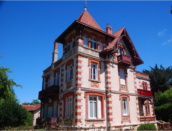 villa style mauresque bassin arcachon