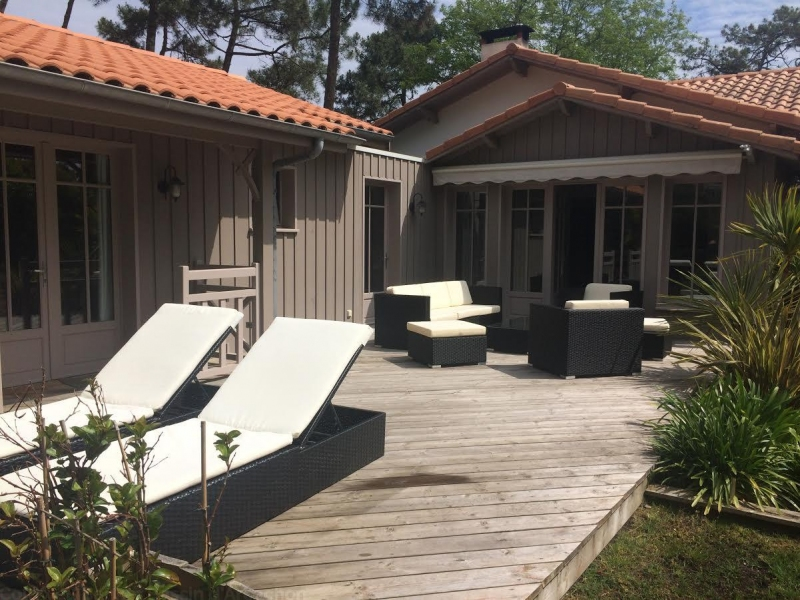 Agence coldwell banker loue villa 5 chambres cap ferret