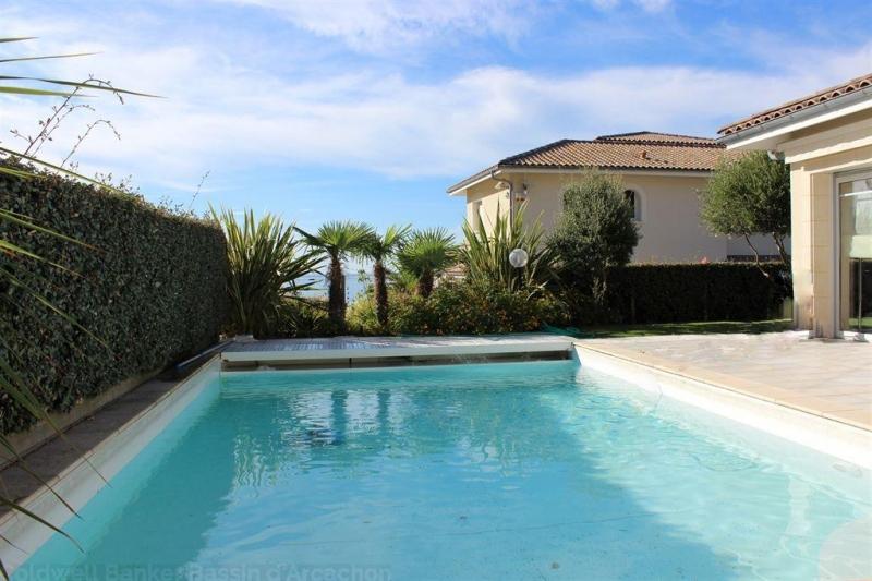 achat villa de prestige familiale avec piscine la Corniche Bassin Arcachon