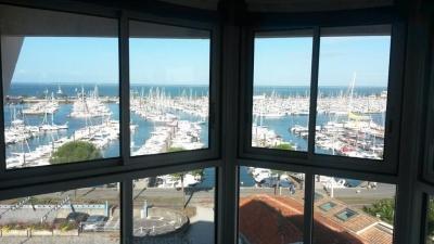 appartement à vendre à Arcachon avec vue mer et le port de plaisance