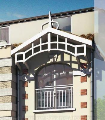 Appartement T3 neuf à vendre au centre d'Arcachon dans une résidence de standing