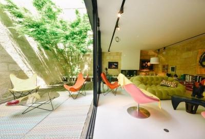 Maison d'architecte à vendre a Bordeaux Chartrons avec 200m² habitable et une piscine intérieure chauffée
