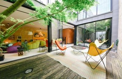Maison de ville à vendre à Bordeaux - Chartrons avec piscine intérieure chauffée et 3 chambres
