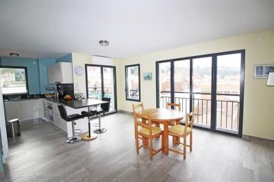 acheter un appartement récent au dernier étage d'une petite résidence d'Arcachon centre ville au calme