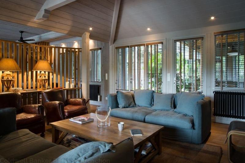 Acheter villa familiale en bois familiale 7 chambres sur Cap Ferret