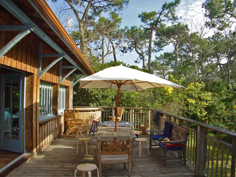 Location saisonnière au Cap-Ferret villa 5 chambres