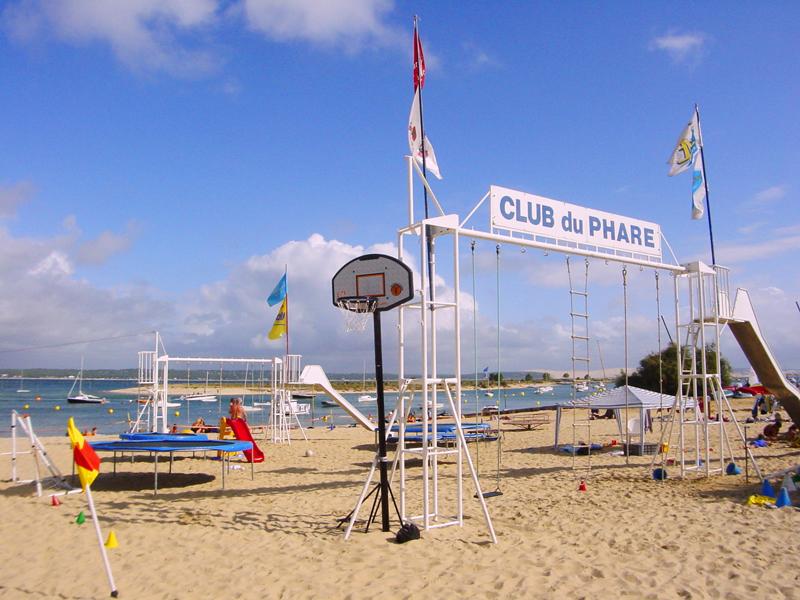 Centre cap-ferret plages clubs enfants location saisonnière coldwell banker