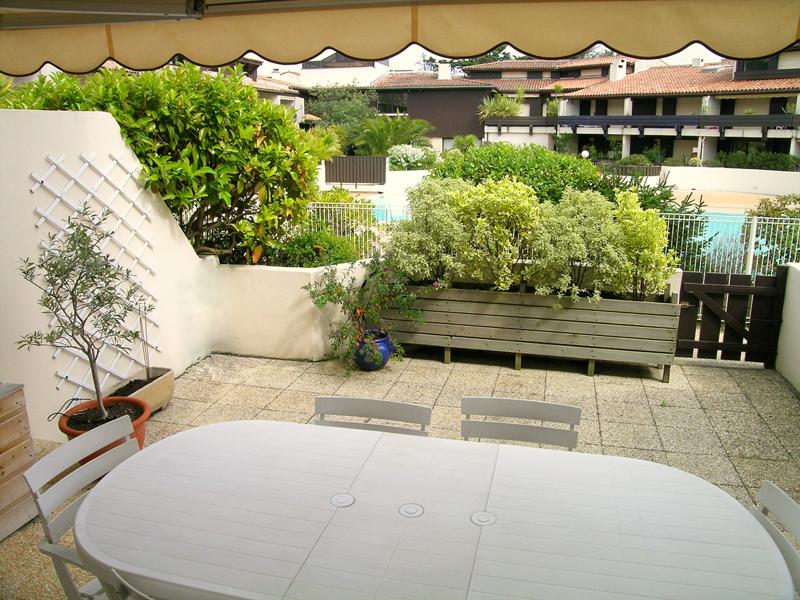 Location appartement cap ferret centre dans residence avec for Appartement bordeaux avec piscine