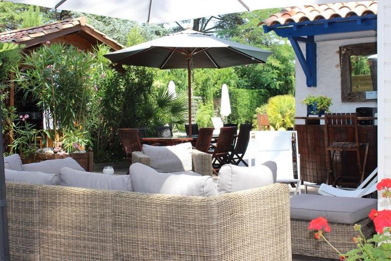 jardin vacances Cap ferret villa piscine centre villa proche plage