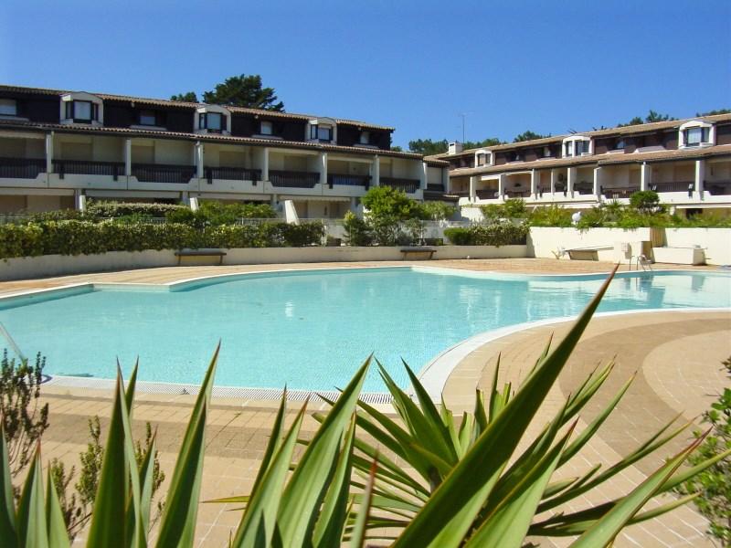 Résidence avec piscine au bassin d'Arcachon