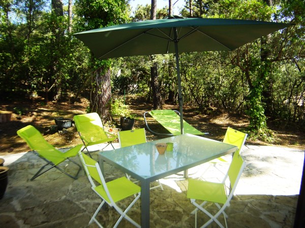 Location Villa 4 chambres - 8 personnes - avec piscine - plages du bassin à pied à louer CAP-FERRET LA VIGNE