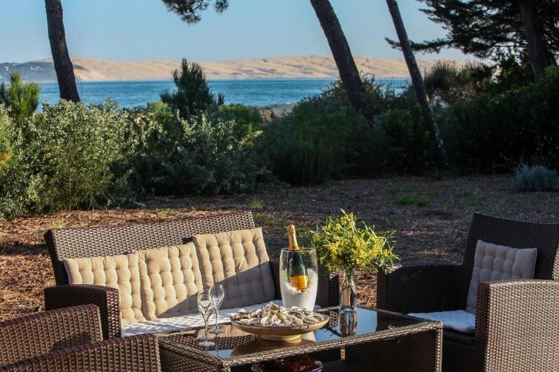 A louer villa 4 chambres vue Bassin d'Arcachon au Cap-Ferret