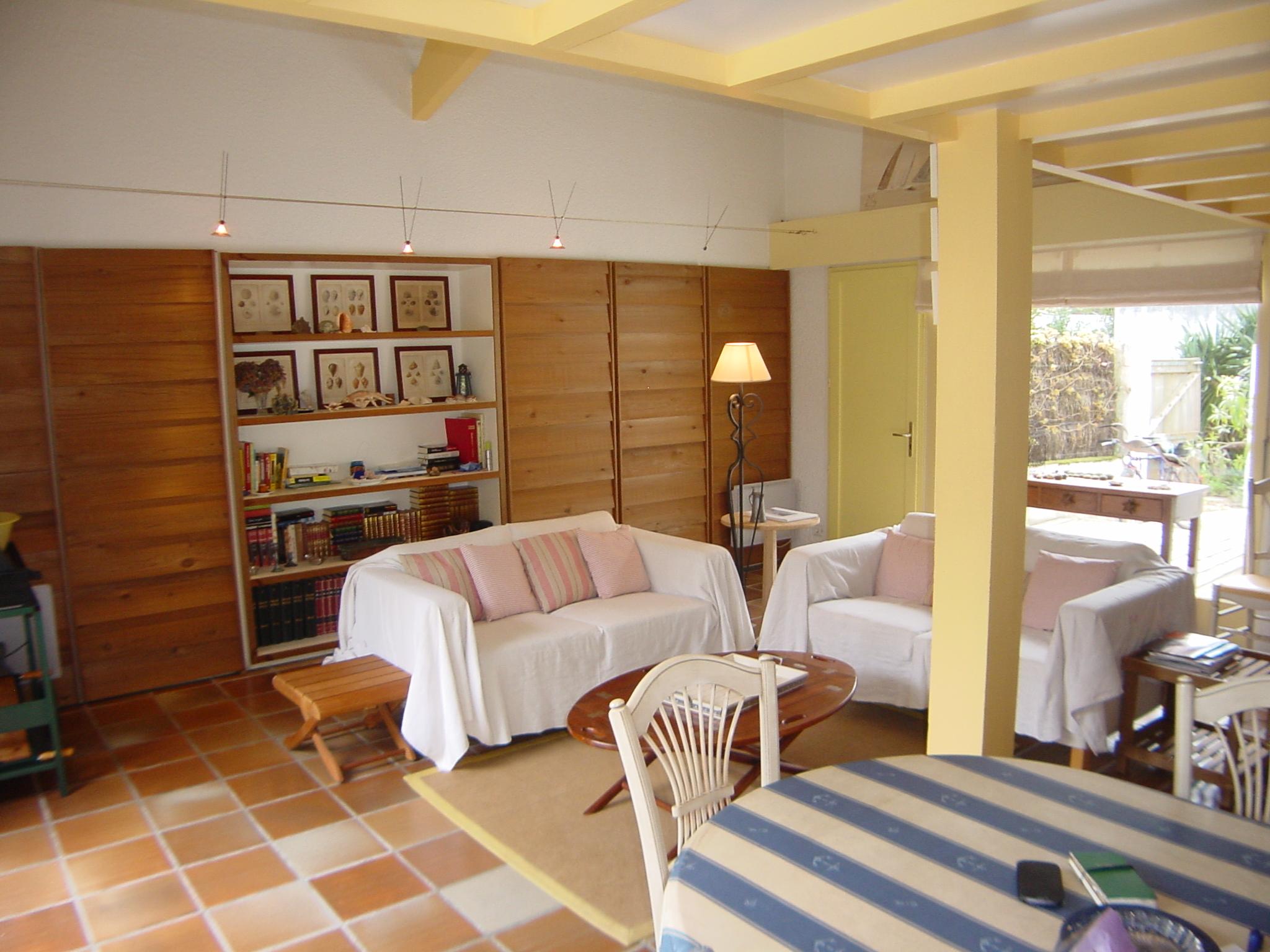 villa familiale à louer proche village de pêcheur cap ferret