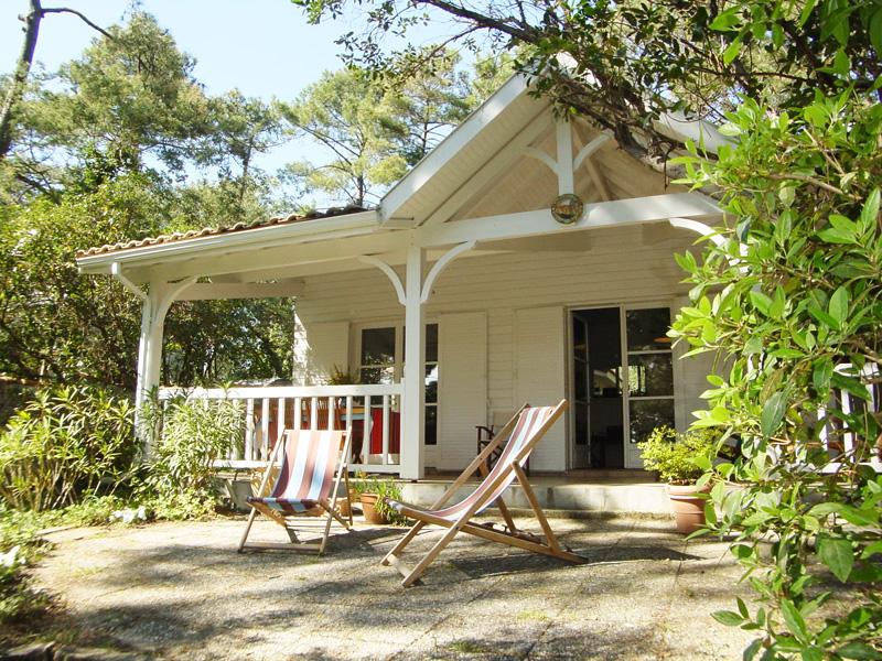 A louer cet été sur le Cap-Ferret charmante villa 4 chambres