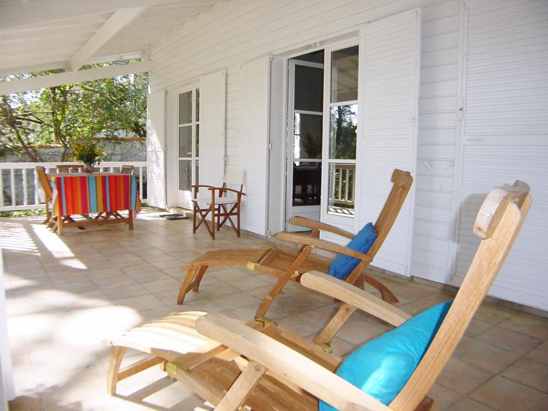 Agréable villa pour 8 ou 9 personnes à louer au Cap-Ferret