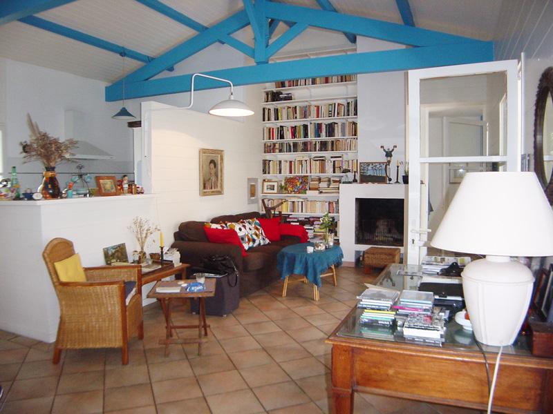 villa à louer pour nombreuses personnes les pieds dans l'eau Cap Ferret