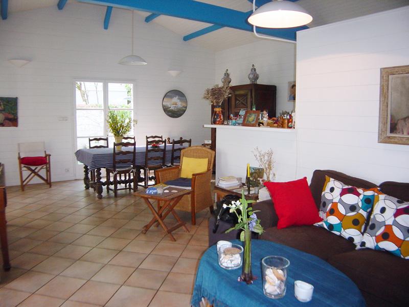 villa familiale à louer été au bord du bassin Lège Cap Ferret