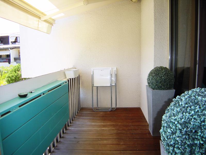 Location appartement CAP-FERRET 2 chambres - 4 personnes- grand balcon vue sur piscine de la résidence