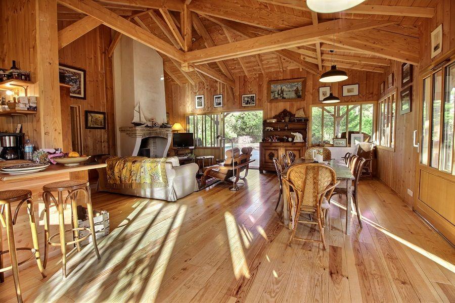 A louer superbe villa avec piscine 8 personnes Cap-Ferret