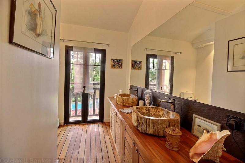 Location villa 4 chambres - 8 personnes - piscine chauffée -PETIT-PIQUEY