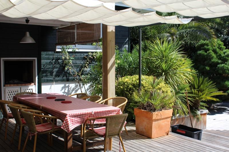 villa à louer avec piscine et terrasse 4 chambres proche cap-ferret