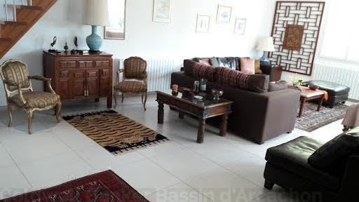 villa à louer avec 4 chambres proche centre cap-ferret