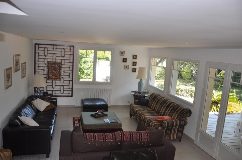 villa à louer pour 8 personnes avec terrasse et piscine au cap-ferret