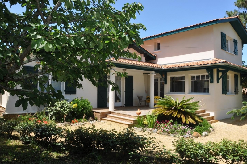 Location de vacances villa pour 8 personnes au cap-ferret